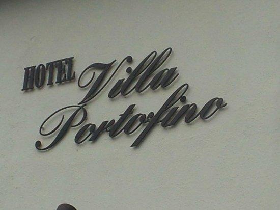 Portofino Hotel: name of our hotel