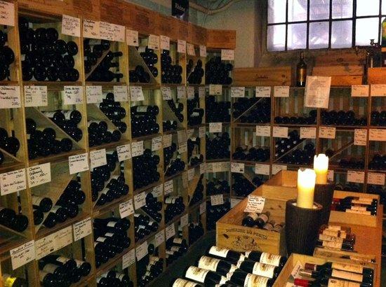 Caduff's Wine Loft: Wine cellar - temperature controlled underground