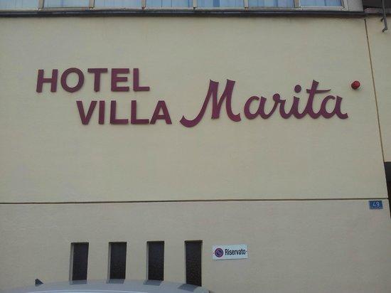 Hotel Villa Marita: Hotelfront