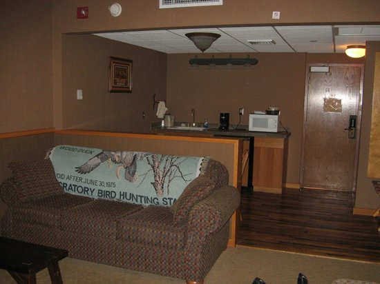 Clifty Inn: Our Suite - Kitchen