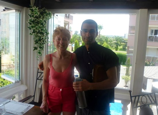 Conny's Hotel: Anne with Nigel