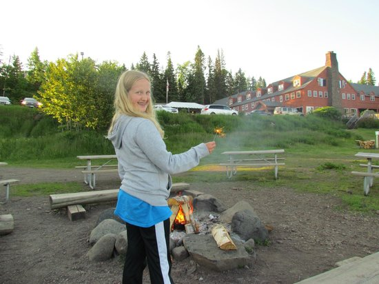 Lutsen Resort on Lake Superior: Smores