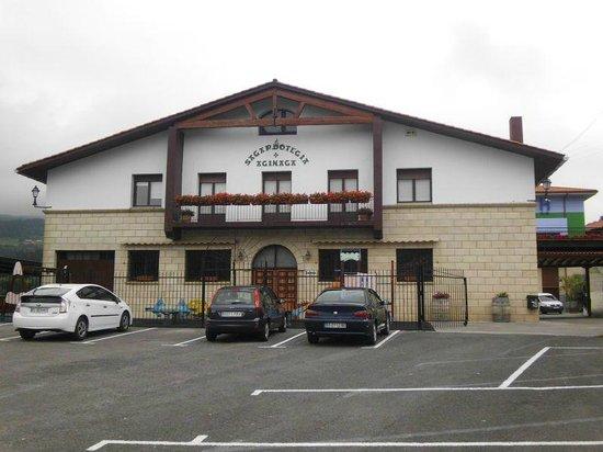 """Aginaga Hotela: Das Restaurant """"Sidreria"""""""