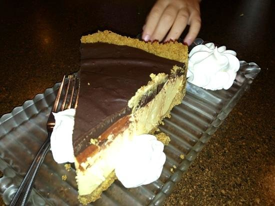 Forrey Grill: peanut butter pie