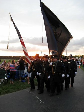 Conner Prairie Interactive History Park: Marching