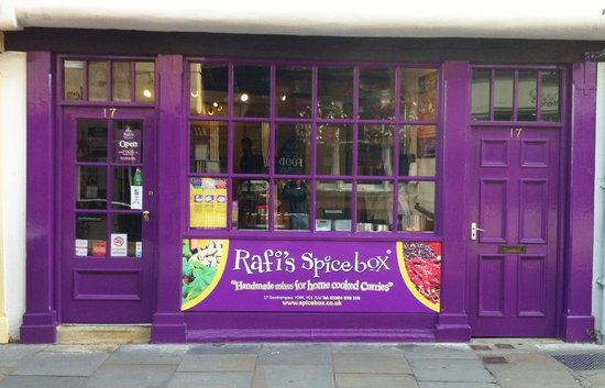 Rafi's Spicebox Ltd