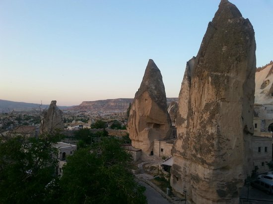 Cappadocia Cave Suites: View from the hotel