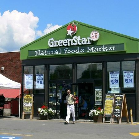 GreenStar: Front of West End Store