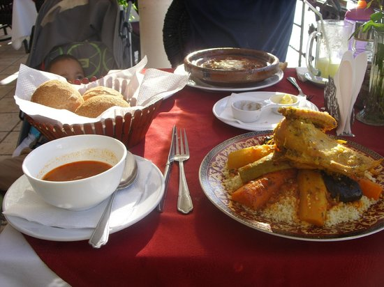 Restaurant Scampi : TYPICAL MOROCCAN COUS...COUS
