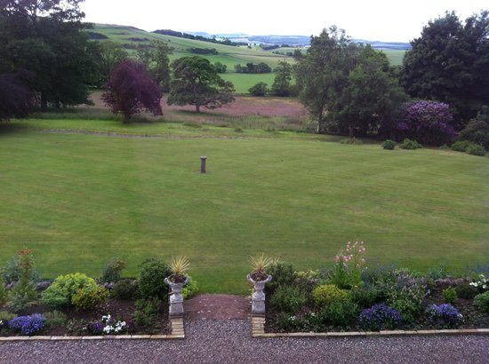 Craigsanquhar House Hotel : View from Room