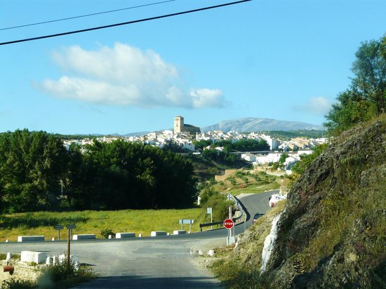 Hotel La Seguiriya: This is what the town looks like upon entry; hotel is a couple blocks from church
