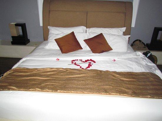 The Seminyak Suite Private Villa: the big bed !
