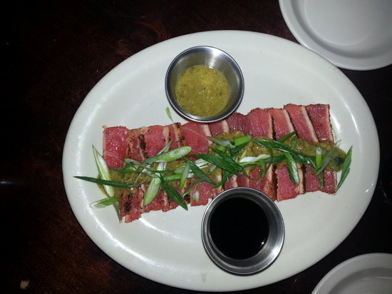 Roosevelt's at 7: Seared Tuna app