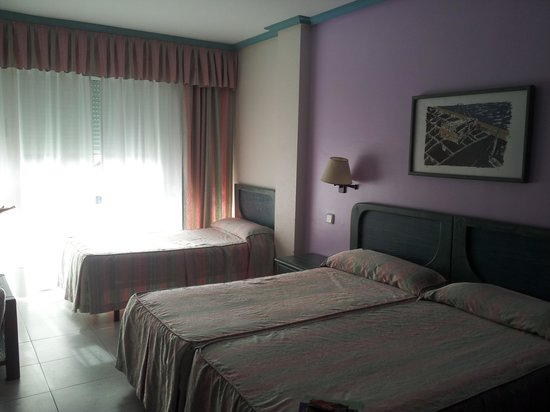 Hotel Torre Cristina: habitacion triple