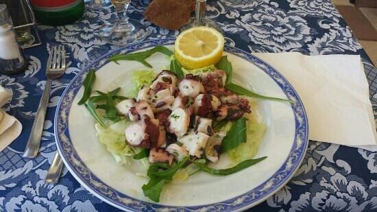 La Sirena del Mare: insalata di polipo