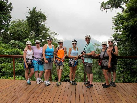 Bill Beard's Costa Rica: Zip Lining in Arenal