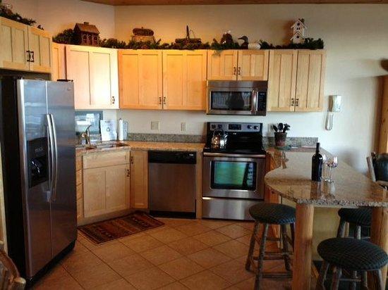 Grand Superior Lodge: Gorgeous kitchen!