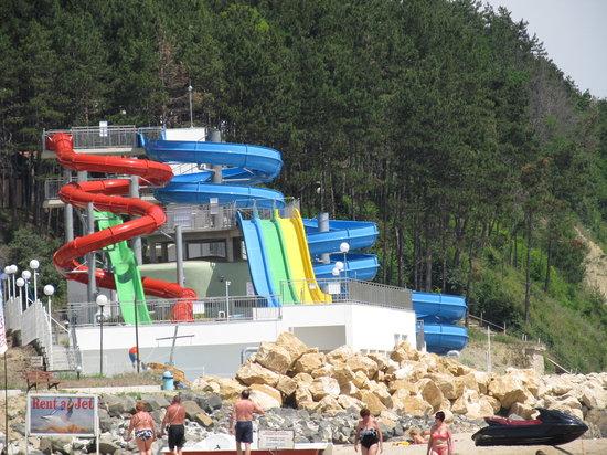 Sol Luna Bay: Aqua park not opened yet