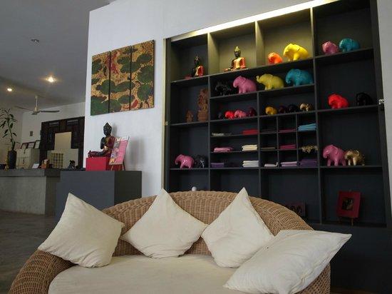 Frangipani Villa Hotel, Siem Reap: lobby2