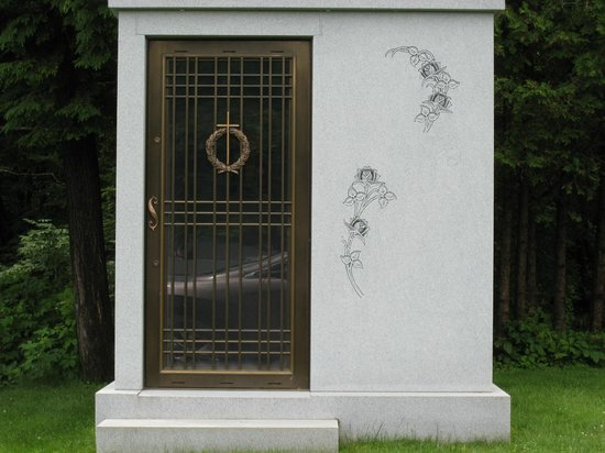 Hope Cemetery: This is really something. Your very own crypt