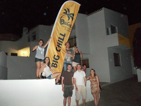 Big Chill Beach Hostel & Guesthouse: Big chill
