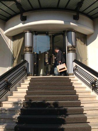 Entrance At Hotel Lord Byron