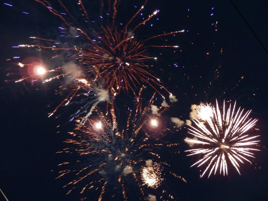 Holiday Inn Club Vacations Ascutney Mountain Resort: Great Fireworks Show on the 4th