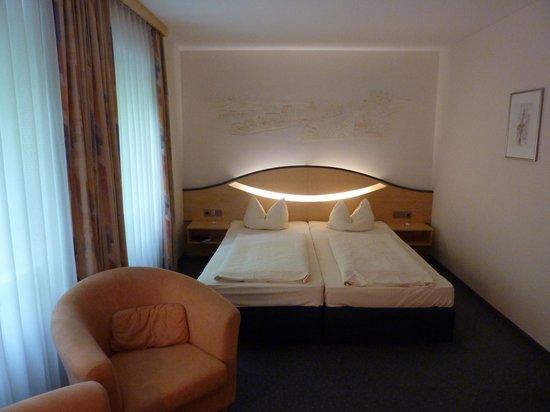 Hotel Atrium: Schlafen