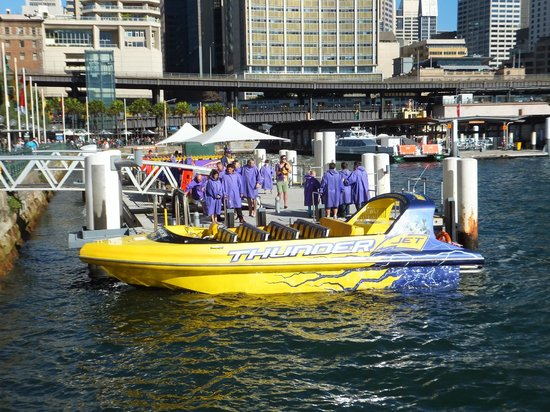 Holiday Inn Darling Harbour: Boat rides