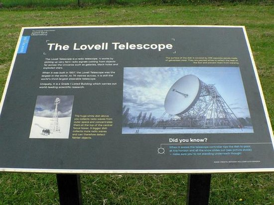 Jodrell Bank Discovery Centre: The telescope