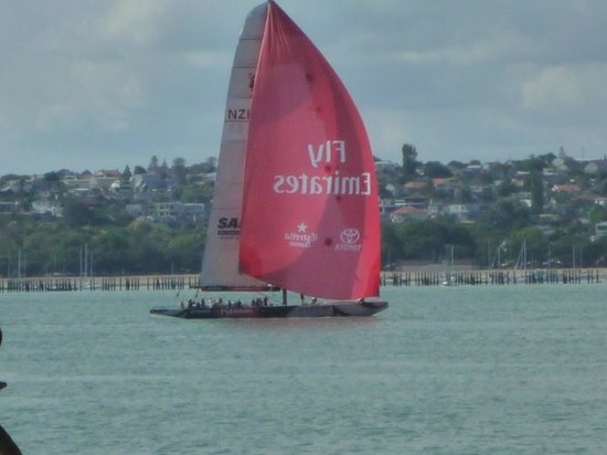 Explore - America's Cup Sail Auckland : Our match race opponent.
