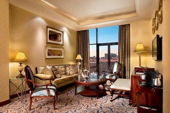 Michelangelo Hotel: Executive Suite-Lounge