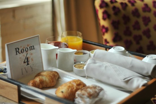 The Ivy at Verity : breakfast delivered