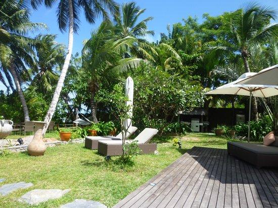 Dhevatara Beach Hotel : Jardin