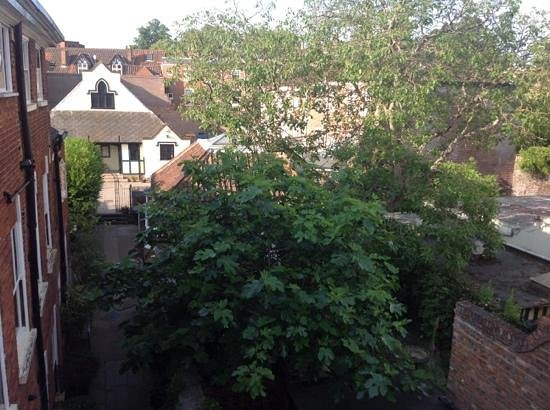 38 St Giles Boutique Bed & Breakfast: View of rear from room