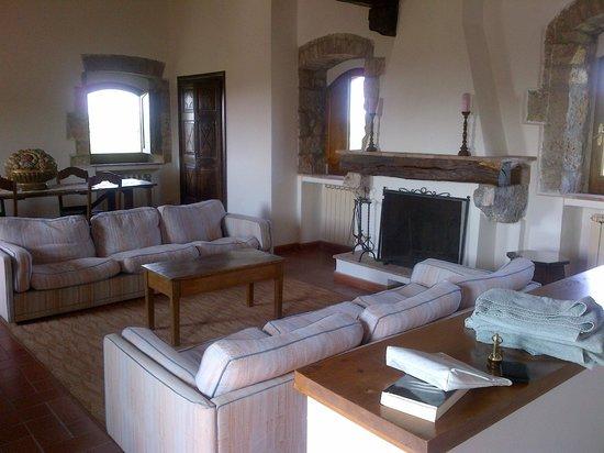 Borgo Pretale: ultimo piano torre medioevale