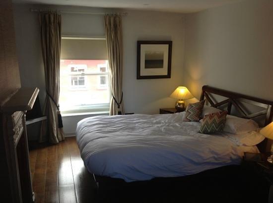 38 St Giles Boutique Bed & Breakfast: bedroom on top floor