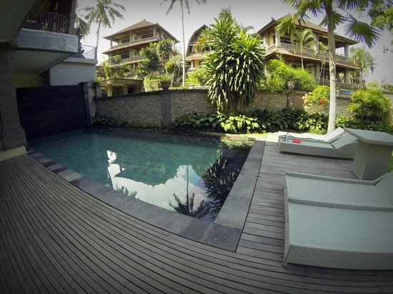 Indira Cottage: Pool Area