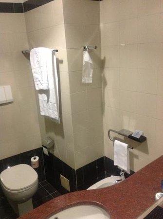 Crivis Hotel: Very clean bathroom