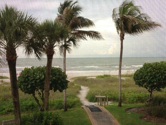 Ocean's Reach Condominiums: view from ocean's reach condos on sanibel island, fl