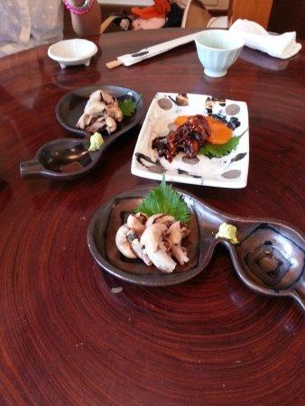 Unagitei Tomoei: 肝の白焼き、タレ焼き