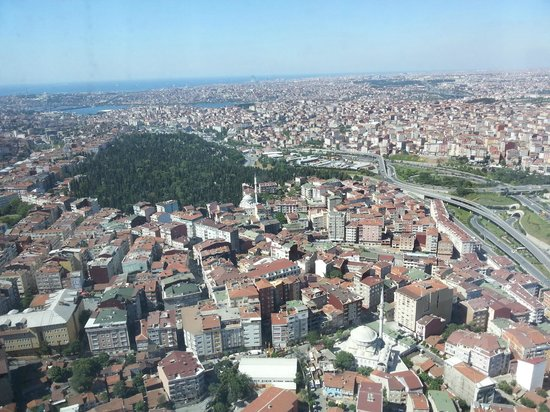 Fraser Place Anthill Istanbul: Vie from the room 48th floor