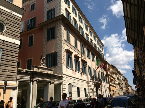 Hotel De Russie, Rome, Italy