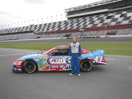 Richard Petty Driving Experience: Photo packages are available for purchase