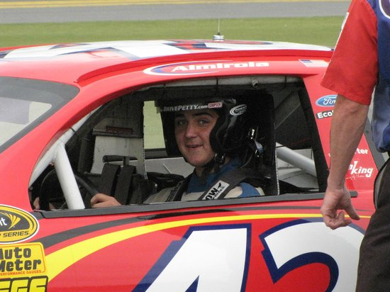 Richard Petty Driving Experience: Getting ready for the 150 mph thrill ride