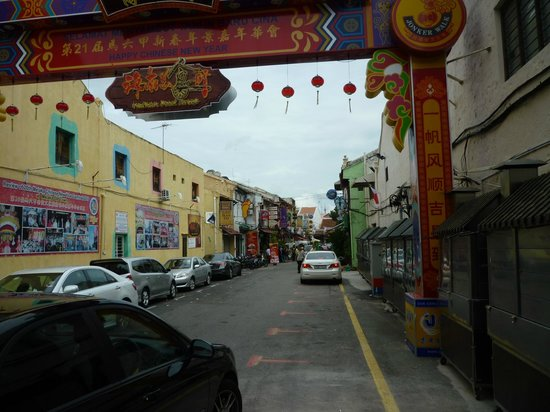 Chinatown - Melaka: Part of Jonker Walk