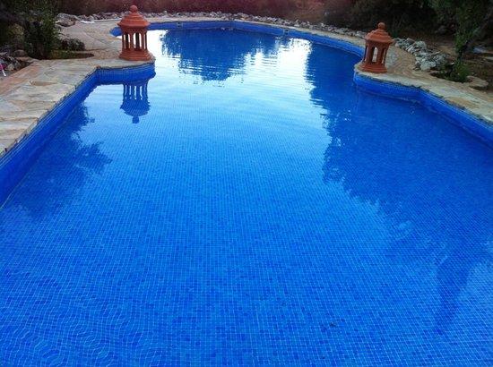 Casas Rurales Los Algarrobales: La piscina muy bonita