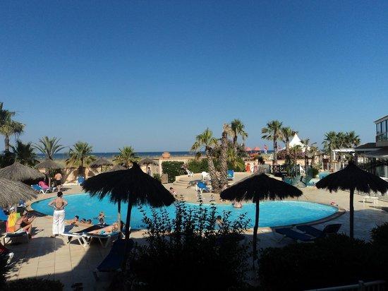 La Lagune Beach Resort and Spa : vue depuis notre chambre n°6