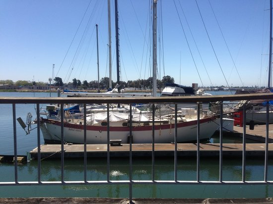 Homewood Suites by Hilton Oakland-Waterfront : Behind hotel