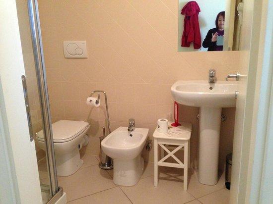 Residenza Fiorentina: Compact bathroom